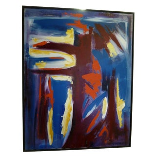 Abstract Oil Painting by Miripolsky