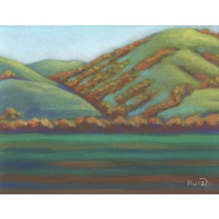 Landscape Near King City California Contemporary Painting For Sale