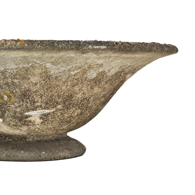 1950s Vintage French Cement Jardiniere For Sale - Image 5 of 10