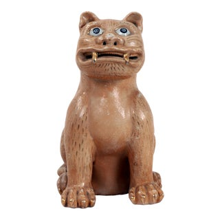 1970s Vintage Sitting Cat Sculpture For Sale