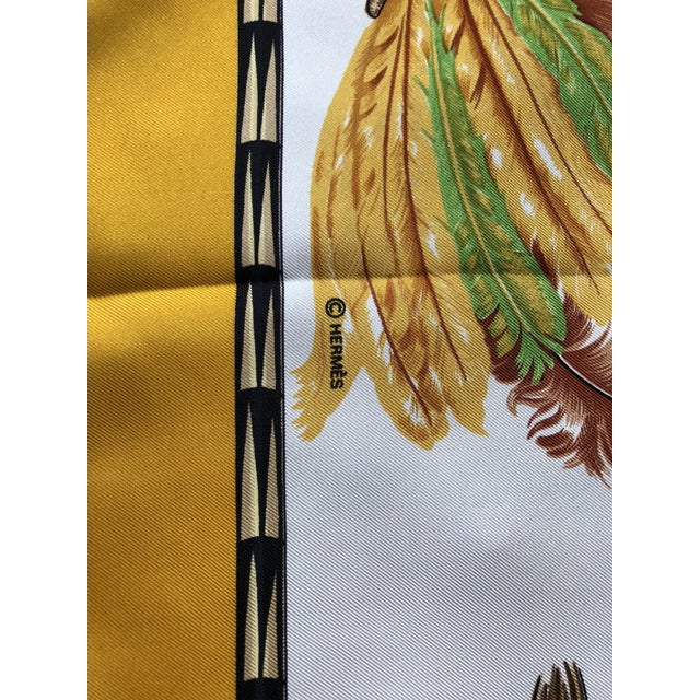 Contemporary Vintage Hermes Brazil Scarf For Sale - Image 3 of 10