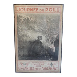 1915 French World War One Poster For Sale