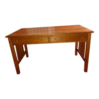 Stickley Mission Collection Writing Desk For Sale