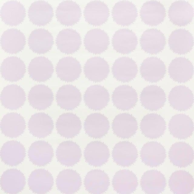 Schumacher Schumacher Fuzz Wallpaper in Lavender For Sale - Image 4 of 4