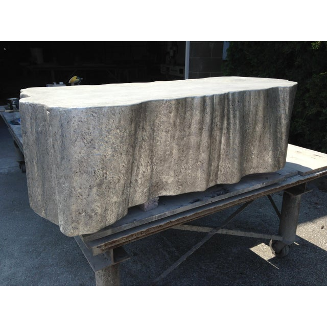 Not Yet Made - Made To Order Organic Modern Silverleaf Coffee Table For Sale - Image 5 of 5