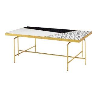 Global Views Mosaic Tile Coffee Table For Sale