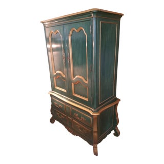 Thomasville Green Armoire