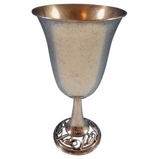 La Paglia by International Sterling Silver Goblet #189-50 Sku #1153 For Sale