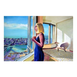 Little Penthouse #1 Painting by Geoff Greene For Sale