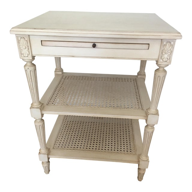 Ethan Allen Elise Side Table - Image 1 of 8