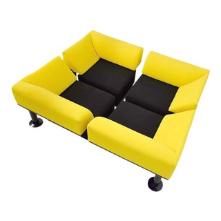 Yellow Artifort Sofa Couch For Sale
