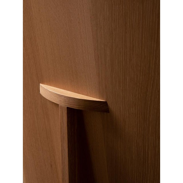 Contemporary Campagna |O Sit Chair in White Oak For Sale - Image 3 of 4