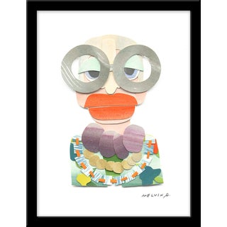 "Medium ""Iris Apfel"" Print by Melvin G., 19"" X 25"" For Sale"