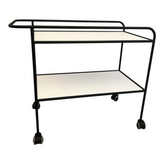 Shiro Kuramata Trolley Bar Cart For Sale