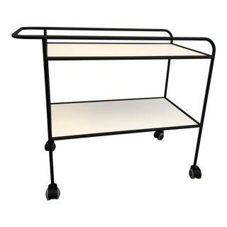 Shiro Kuramata Trolley Bar Cart For Sale