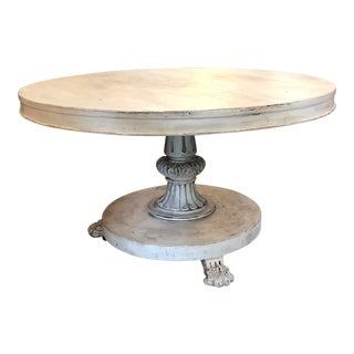 Late 19th C. French Empire Table For Sale