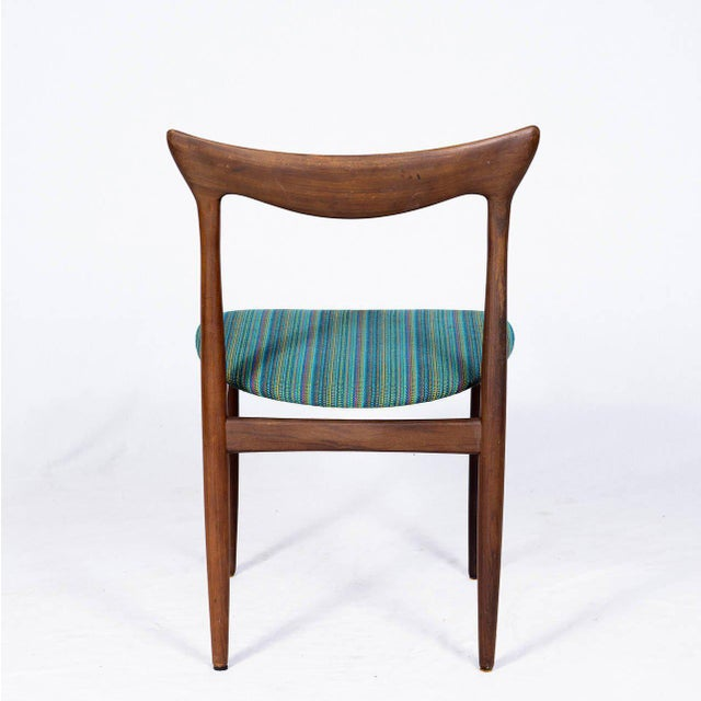 Set of Four Danish Dining Chairs For Sale In Los Angeles - Image 6 of 10