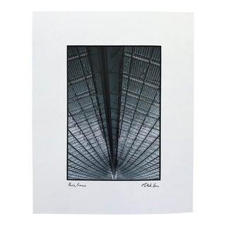 Contemporary Photograph of Paris Train Station For Sale
