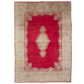"""Kerman Vintage Persian Rug, 11'5"""" x 16'1"""""""