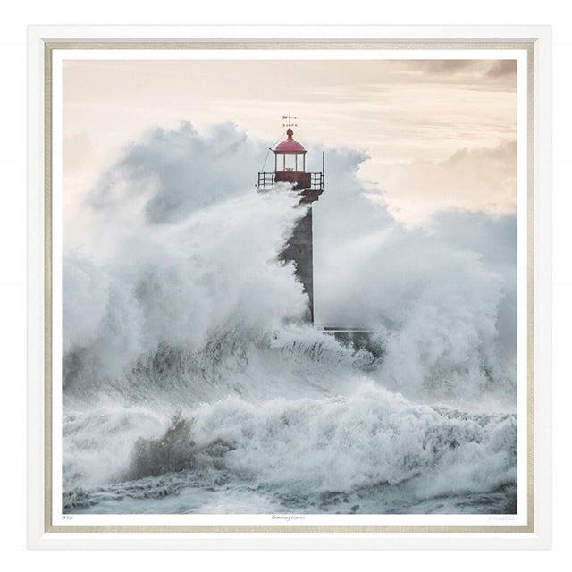 "Modern Trowbridge Giclees ""Ray of Light"" & ""Crashing Waves"" Pair For Sale - Image 3 of 5"
