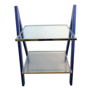 Bungalow 5 Sheldon Side Table - Blue For Sale