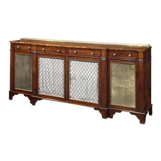 Regency Breakfront Side Cabinet