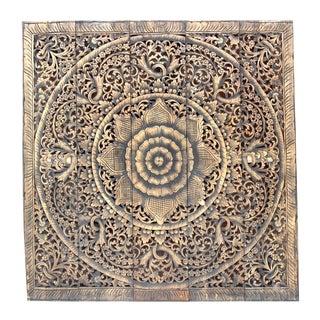 Dark Aged Lotus Panel For Sale