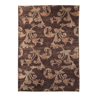 Contemporary Hand Woven Rug - 3'10x5'7 For Sale