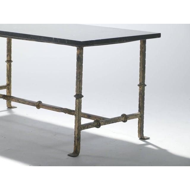 Superb Gilt Wrought Iron Art Deco Coffee Table 1940S Inzonedesignstudio Interior Chair Design Inzonedesignstudiocom