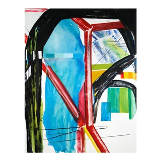 """Laura Newman """"Interior with Paint Chips"""", Painting For Sale"""