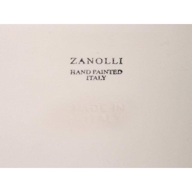 1990s Italian Zanolli Faience Fruit Platter For Sale - Image 5 of 6