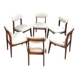 Image of Mid Century Danish Modern Dining Chairs by Hibriten / Bernhardt—Set of 6 For Sale