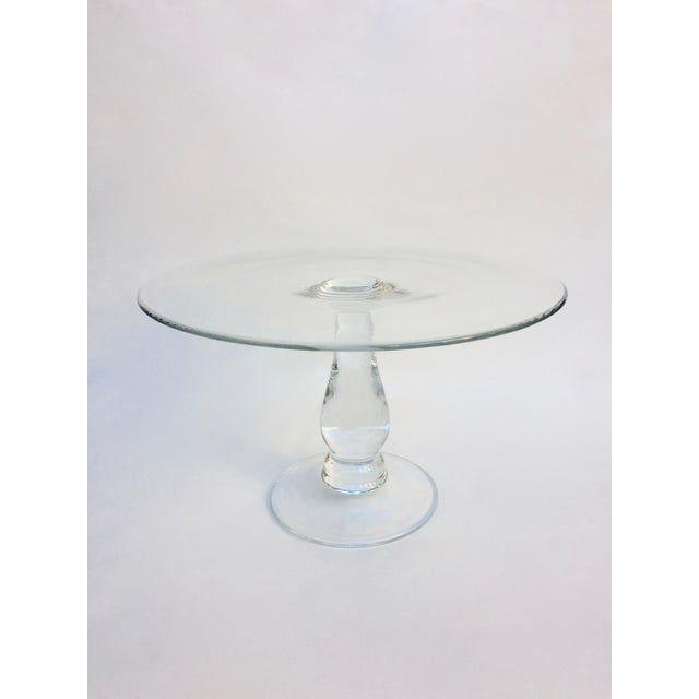 Tall Glass Cake Stand - Image 2 of 4