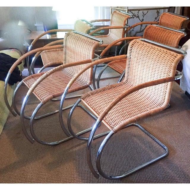 MCM Mies Van Der Rohe - Mr 20 Chairs - Set of 6 - Image 3 of 13