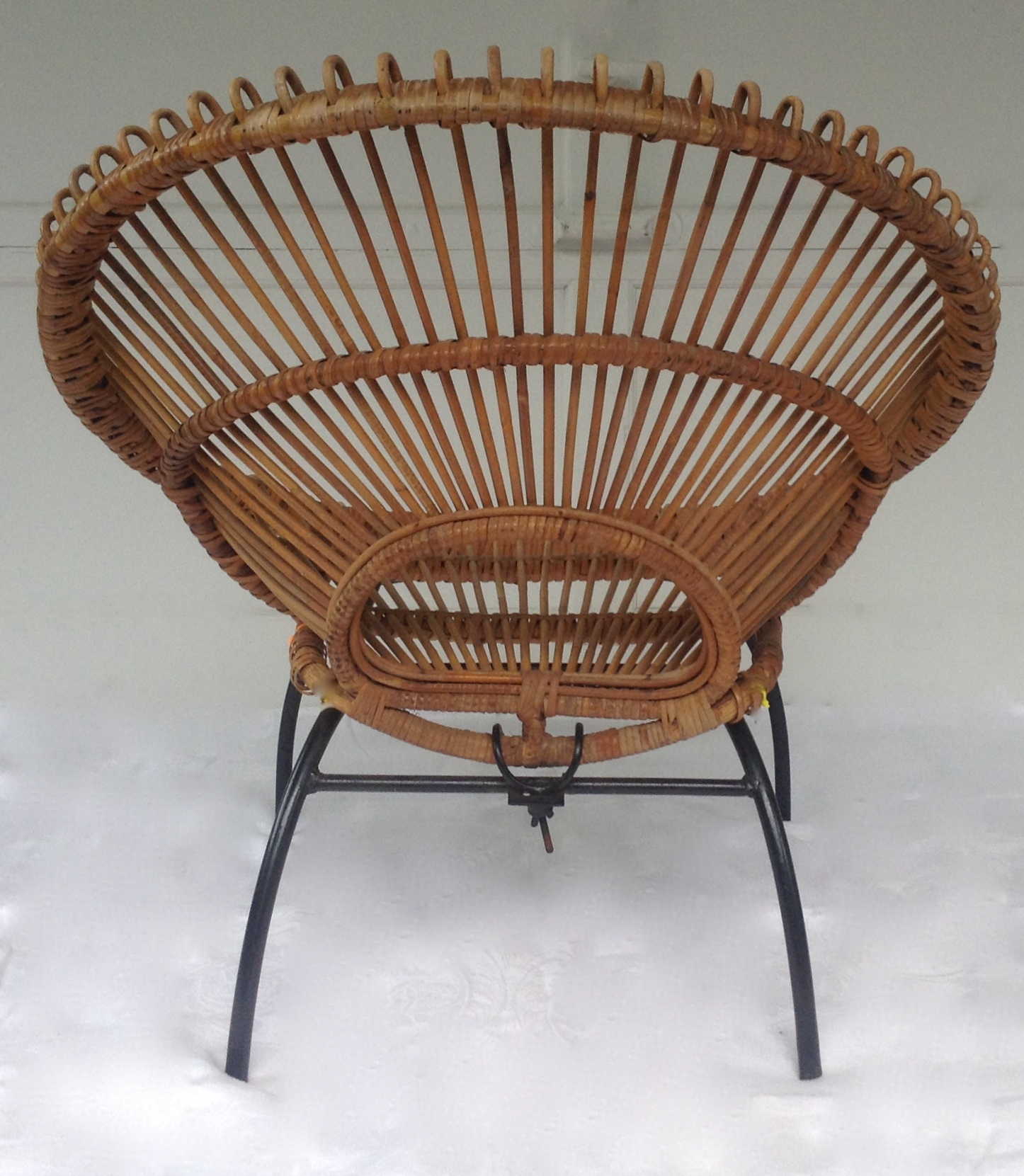 1950u0027s Italian Franco Albini Hoop Chair   Image 5 Of 11