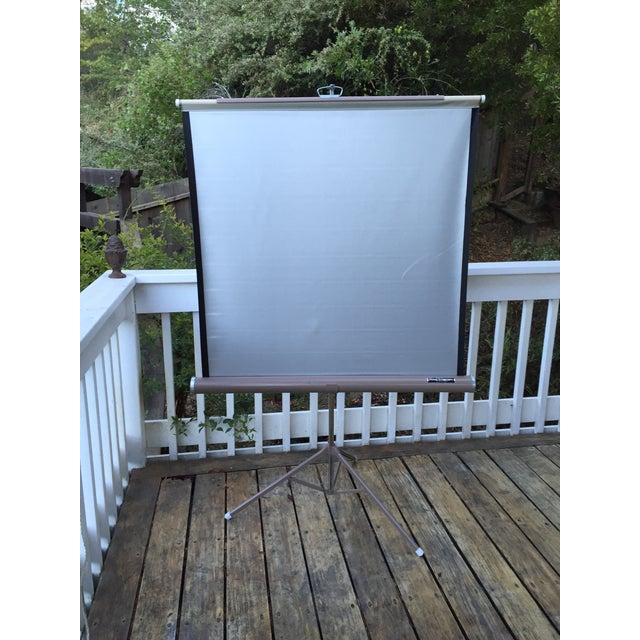 Mid Century Wards Portable Projection Screen - Image 2 of 11