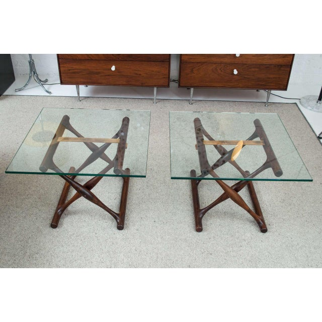 Poul Hundevad Rosewood Side Tables - A Pair - Image 5 of 8