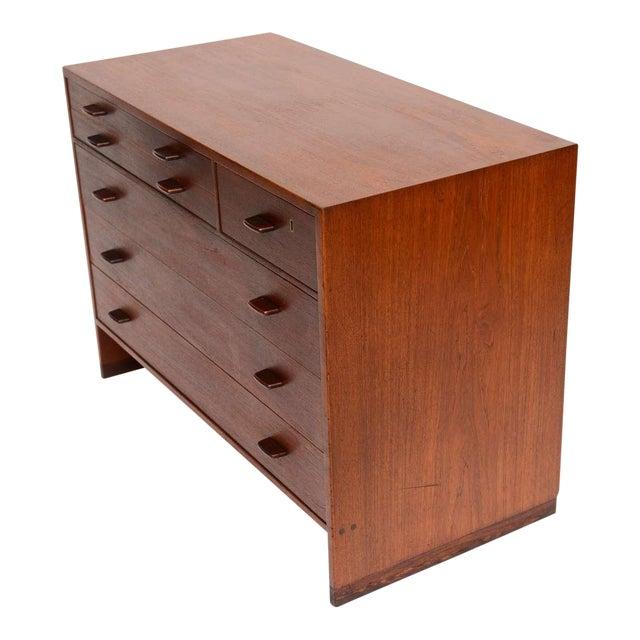 1950s Hans Wegner Mid Century Modern Teak Dresser for Ry Mobler/George Tanier - Image 1 of 9