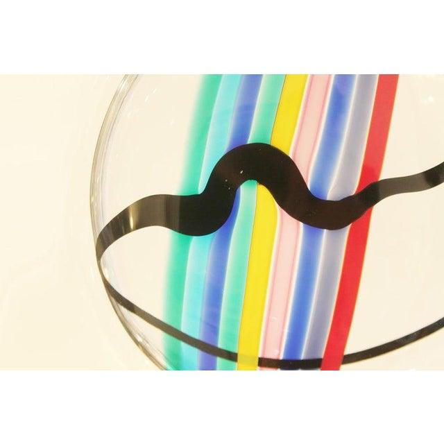 Livio Seguso Glass Disc by Livio Seguso for Oggetti, Italy, Circa 1970s For Sale - Image 4 of 7