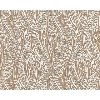 Hinson for the House of Scalamandre Fanfare Fabric in Beige For Sale