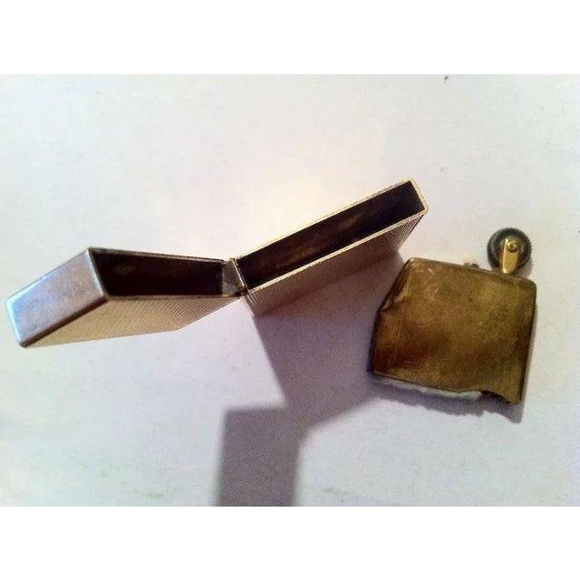 14k Gold Lighter Signed B&A For Sale - Image 9 of 10