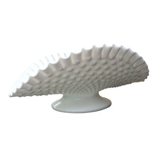 Hobnail Milk Glass Bowl For Sale