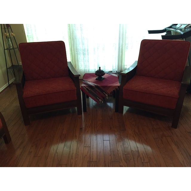 Turkish Armchairs - a Pair - Image 6 of 6