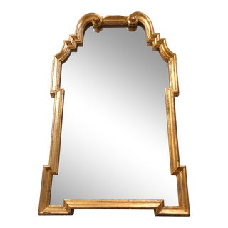 Italian Gilt Wood Mirror For Sale