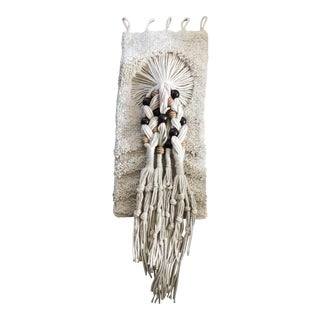 Woven Macrame Wall Textile