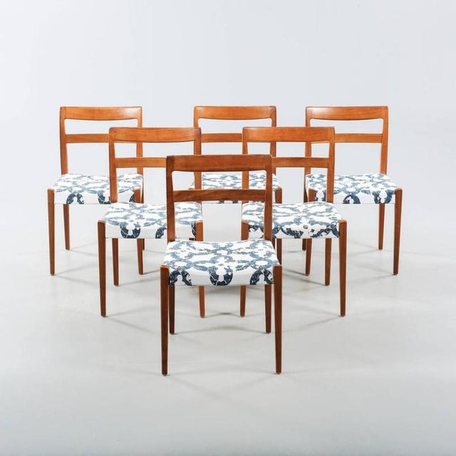 White Dining Chairs by Nils Jonsson for Troeds, 1960s - Set of 6 For Sale - Image 8 of 8