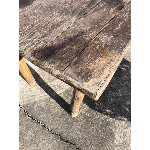 Rustic Adirondack Work or Side Table For Sale - Image 9 of 13