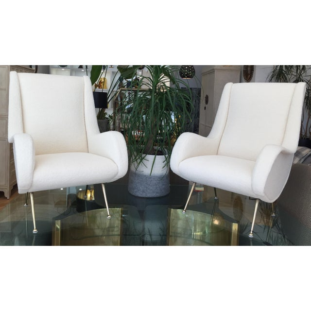Gigi Radice Italian Armchairs - A Pair For Sale - Image 9 of 9