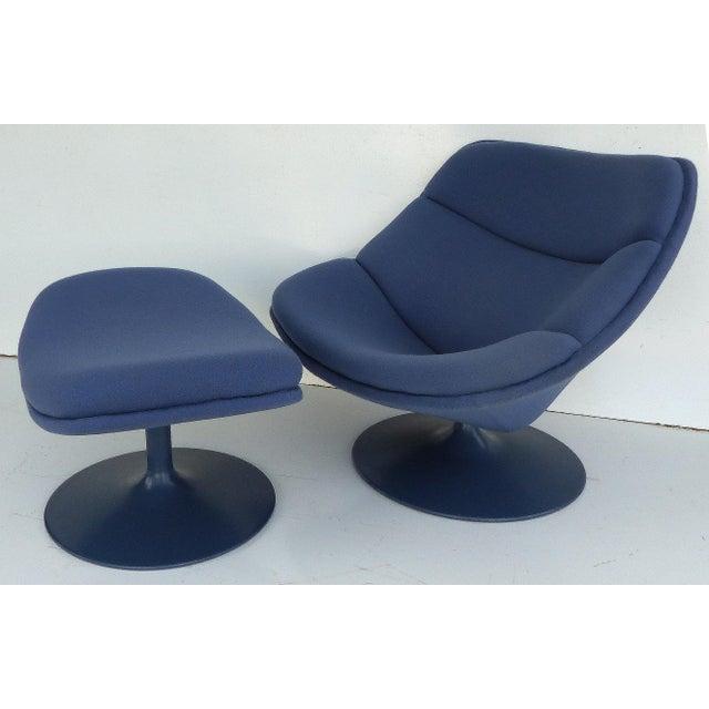 Mid-Century Modern Mid-Century Modern Geoffrey Harcourt Chair & Ottoman For Sale - Image 3 of 11