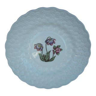 Vintage Spode Provincial Flowers Plate For Sale